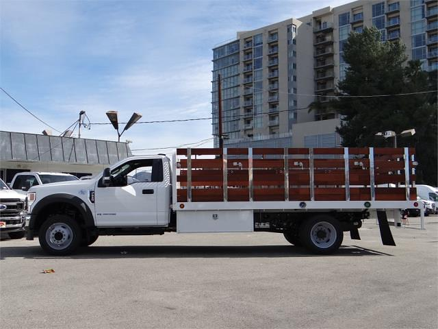 2020 Ford F-550 Regular Cab DRW 4x2, 16' Stakebed #G02759 - photo 3