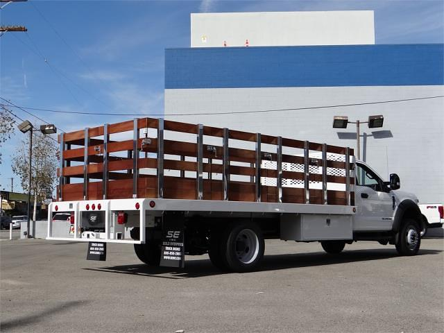 2020 Ford F-550 Regular Cab DRW 4x2, 16' Stakebed #G02759 - photo 2