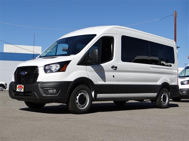 2021 Ford Transit 350 Medium Roof 4x2, Passenger Wagon #G10345 - photo 1