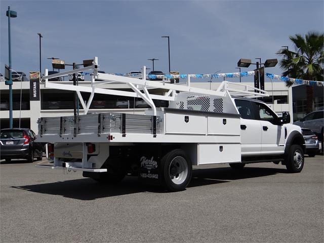 2021 Ford F-550 Crew Cab DRW 4x2, Harbor Contractor Body #G10626 - photo 1