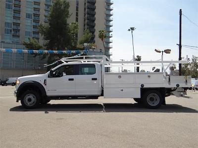 2021 Ford F-550 Crew Cab DRW 4x2, Harbor Contractor Body #G10626 - photo 3