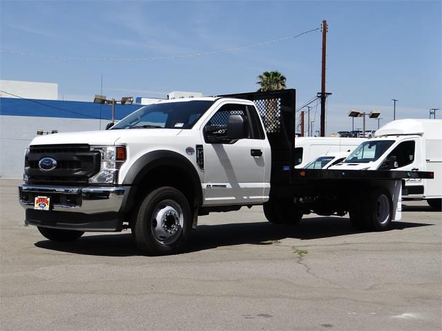 2021 Ford F-550 Regular Cab DRW 4x2, Marathon Platform Body #G10670 - photo 1