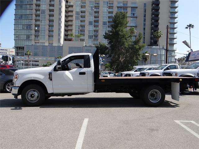 2021 Ford F-350 Regular Cab DRW 4x2, Marathon Platform Body #G10671 - photo 1