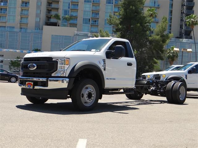 2021 Ford F-550 Regular Cab DRW 4x2, Cab Chassis #G10822 - photo 1