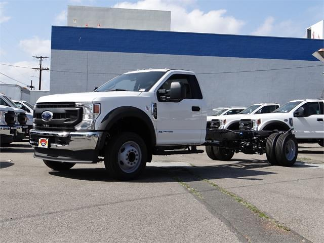 2021 Ford F-550 Regular Cab DRW 4x2, Cab Chassis #G10865 - photo 1