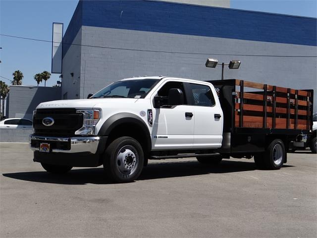 2021 Ford F-550 Crew Cab DRW 4x4, Harbor Stake Bed #G10987 - photo 1