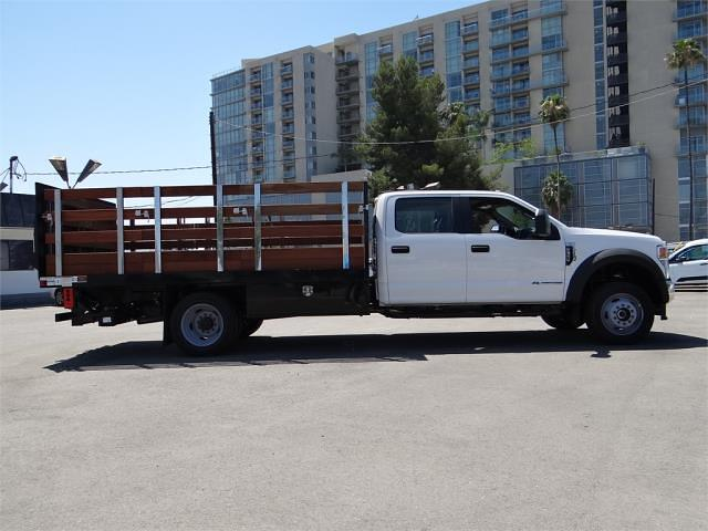 2021 Ford F-550 Crew Cab DRW 4x4, Harbor Black Boss Stake Bed #G10987 - photo 10
