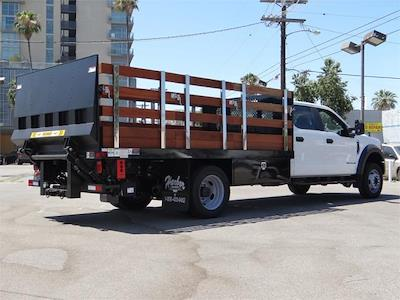 2021 Ford F-550 Crew Cab DRW 4x4, Harbor Black Boss Stake Bed #G10987 - photo 2