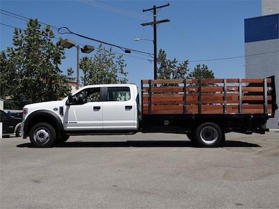 2021 Ford F-550 Crew Cab DRW 4x4, Harbor Black Boss Stake Bed #G10987 - photo 3