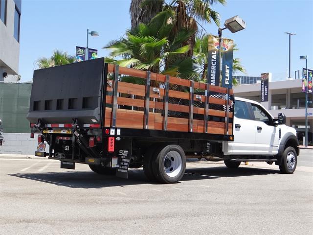 2021 Ford F-550 Crew Cab DRW 4x2, Scelzi Stake Bed #G11025 - photo 1