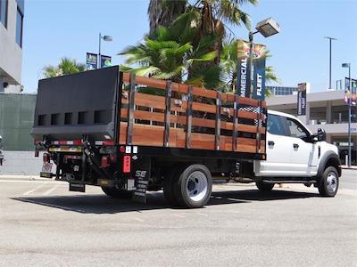 2021 Ford F-550 Crew Cab DRW 4x2, Scelzi WFB Stake Bed #G11025 - photo 2