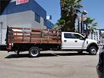 2021 Ford F-550 Crew Cab DRW 4x2, Scelzi WFB Stake Bed #G11025 - photo 11