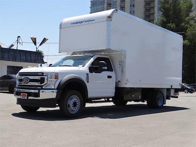 2021 Ford F-550 Regular Cab DRW 4x2, Marathon FRP High Cube Dry Freight #G11034 - photo 1