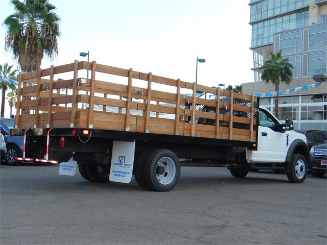 2017 F-550 Regular Cab DRW 4x2,  Marathon Stake Bed #M73869 - photo 2