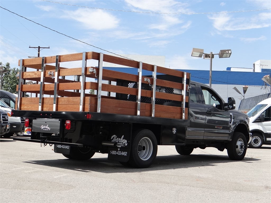 2018 Ford F-350 Super Cab DRW 4x4, Harbor Stake Bed #M81614 - photo 1
