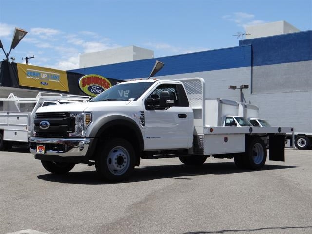 2019 F-550 Regular Cab DRW 4x2,  Scelzi WFB Platform Body #M92154 - photo 1