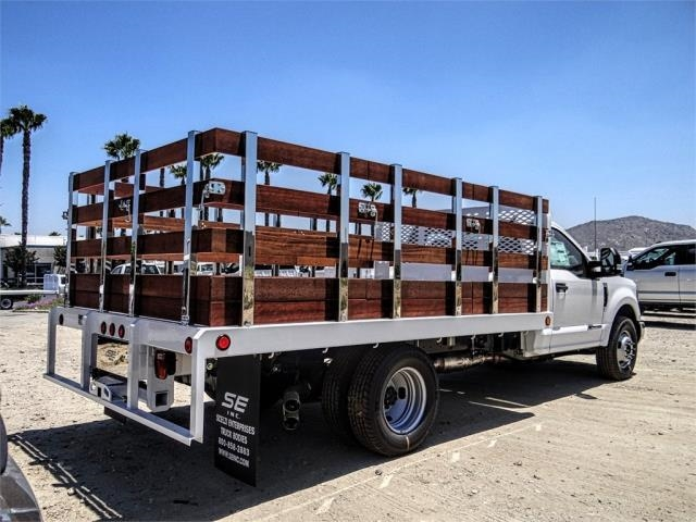 2019 F-350 Regular Cab DRW 4x2,  Scelzi Stake Bed #M92180T - photo 4
