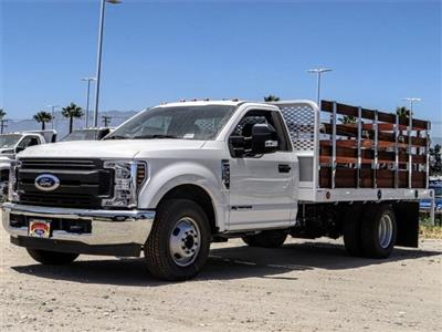 2019 F-350,  Scelzi Stake Bed