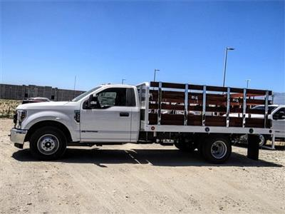 2019 F-350 Regular Cab DRW 4x2,  Scelzi Stake Bed #M92180T - photo 3