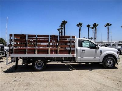 2019 F-350 Regular Cab DRW 4x2,  Scelzi Stake Bed #M92180T - photo 5