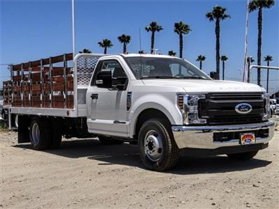 2019 F-350 Regular Cab DRW 4x2,  Scelzi Stake Bed #M92180T - photo 6