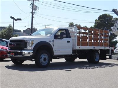 2019 F-450,  Scelzi Stake Bed