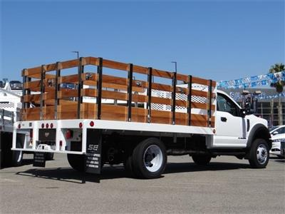 2019 F-450 Regular Cab DRW 4x2,  Scelzi WFB Stake Bed #M92242 - photo 2