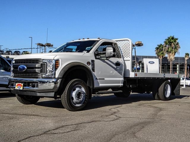 2019 F-550 Regular Cab DRW 4x2,  Scelzi Platform Body #M92292 - photo 1