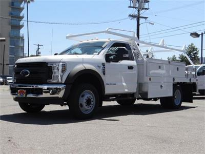 2019 F-450 Regular Cab DRW 4x2,  Scelzi CTFB Contractor Body #M92300 - photo 1