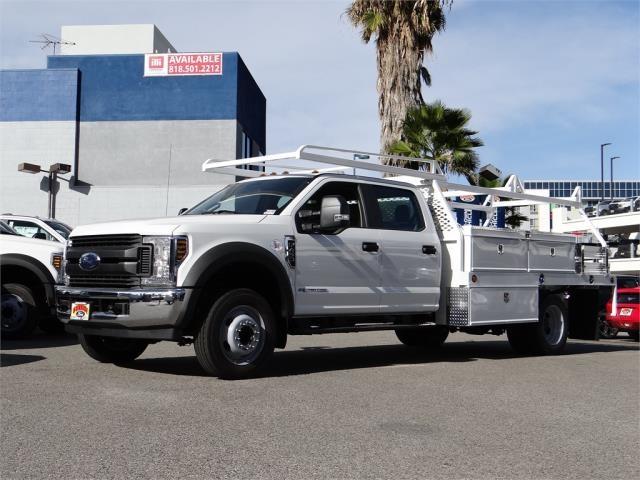 2019 Ford F-450 Crew Cab DRW 4x2, Scelzi Contractor Body #M93031 - photo 1