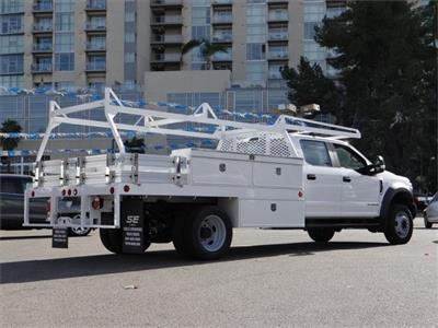 2019 Ford F-450 Crew Cab DRW 4x2, Scelzi CTFB Contractor Body #M93031 - photo 2