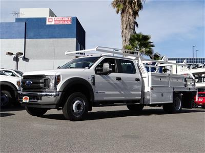 2019 Ford F-450 Crew Cab DRW 4x2, Scelzi CTFB Contractor Body #M93031 - photo 1