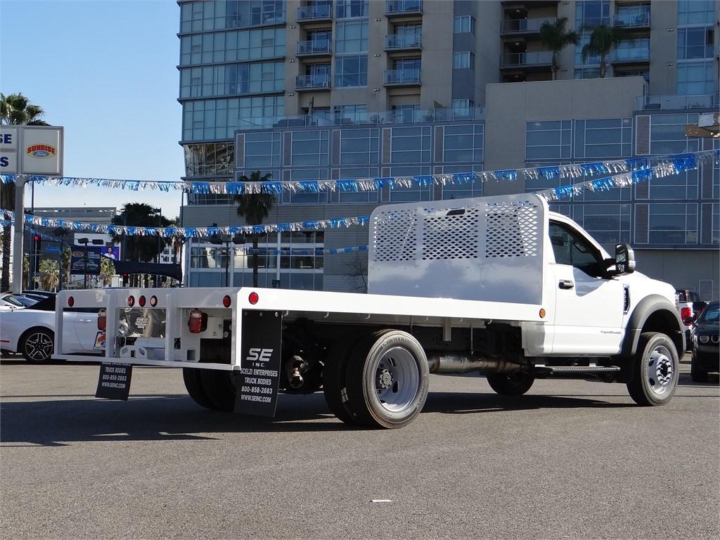 2019 F-550 Regular Cab DRW 4x2, Scelzi Platform Body #M93060 - photo 1