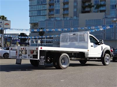 2019 F-550 Regular Cab DRW 4x2, Scelzi WFB Platform Body #M93060 - photo 2