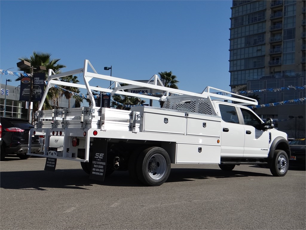 2019 Ford F-450 Crew Cab DRW 4x2, Scelzi Contractor Body #M93062 - photo 1