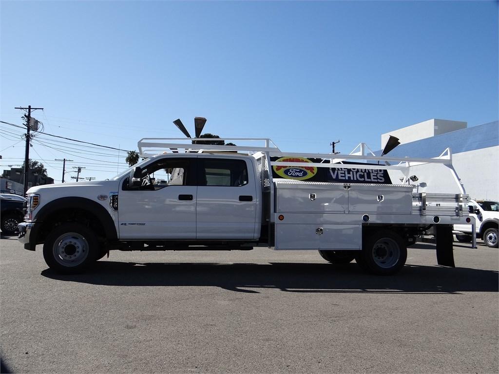 2019 F-450 Crew Cab DRW 4x2, Scelzi CTFB Contractor Body #M93062 - photo 3