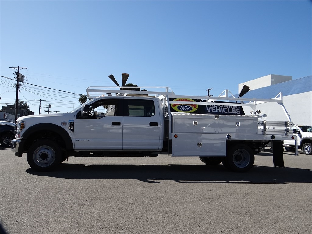 2019 Ford F-450 Crew Cab DRW 4x2, Scelzi CTFB Contractor Body #M93062 - photo 3