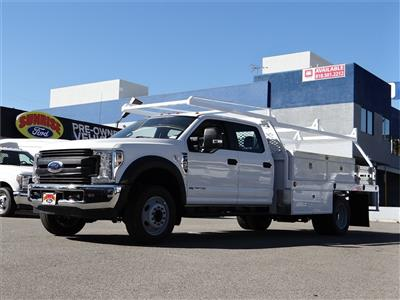 2019 Ford F-450 Crew Cab DRW 4x2, Scelzi CTFB Contractor Body #M93062 - photo 1