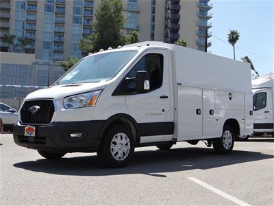 2020 Ford Transit 350 RWD, Knapheide KUV Service Utility Van #G01365 - photo 1