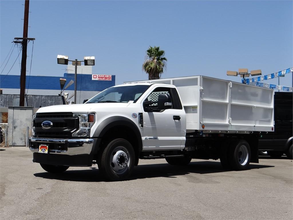 2020 Ford F-550 Regular Cab DRW 4x2, Scelzi Landscape Dump #g01880 - photo 1