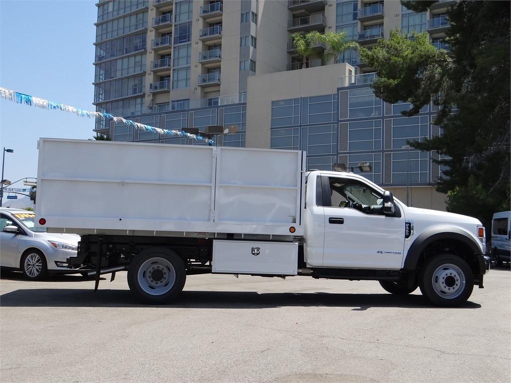 2020 Ford F-550 Regular Cab DRW 4x2, Scelzi Landscape Dump #g01880 - photo 7