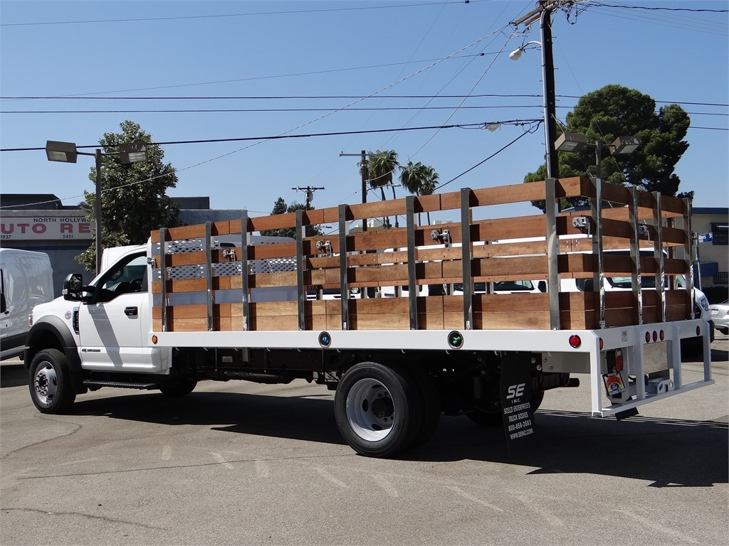 2020 Ford F-550 Regular Cab DRW 4x2, Scelzi Stake Bed #G02185 - photo 1
