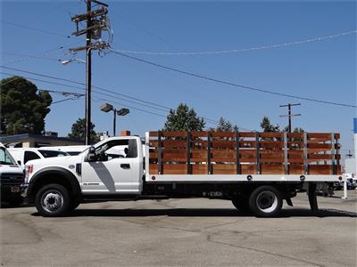 2020 Ford F-550 Regular Cab DRW 4x2, Scelzi WFB Stake Bed #G02185 - photo 3