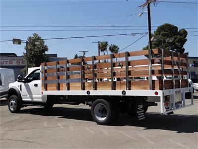 2020 Ford F-550 Regular Cab DRW 4x2, Scelzi WFB Stake Bed #G02185 - photo 2