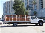 2020 Ford F-550 Regular Cab DRW 4x2, Scelzi WFB Stake Bed #G02185 - photo 8