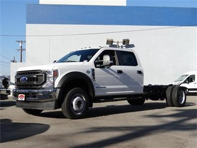 2020 Ford F-550 Crew Cab DRW 4x4, Cab Chassis #G02451 - photo 1