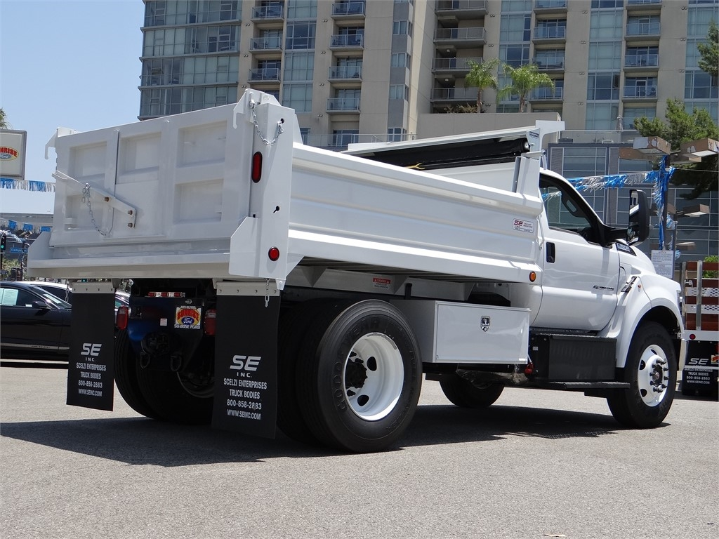 2021 Ford F-650 Regular Cab DRW 4x2, Scelzi Dump Body #G10001 - photo 2