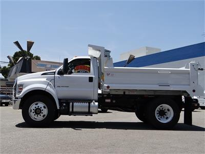 2021 Ford F-650 Regular Cab DRW 4x2, Scelzi Dump Body #G10001 - photo 3