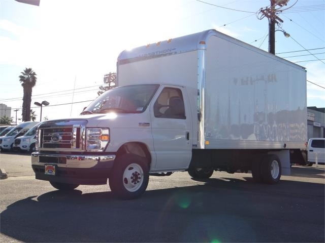 2021 Ford E-450 4x2, Marathon Aluminum High Cube Dry Freight #G10089 - photo 1