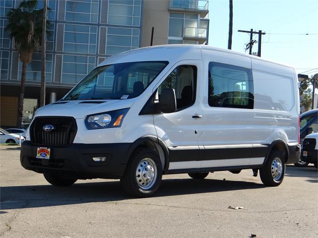 2021 Ford Transit 250 Medium Roof 4x2, Crew Van #g10326 - photo 1